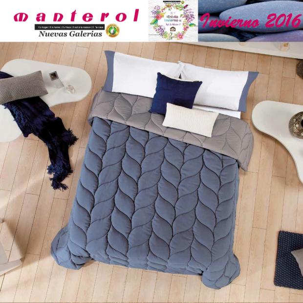 Manterol Edredon Quilt Espiga 130-10 | Manterol - 1 Edredon Quilt Espiga 130-10| Manterol -Edredón jacquard ideal para los mes