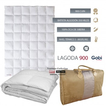 European White goose down Duvet 900 CUIN 80 grs| Ferdown