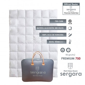Sergara Premium 750 Fill Power Summer Down Comforter