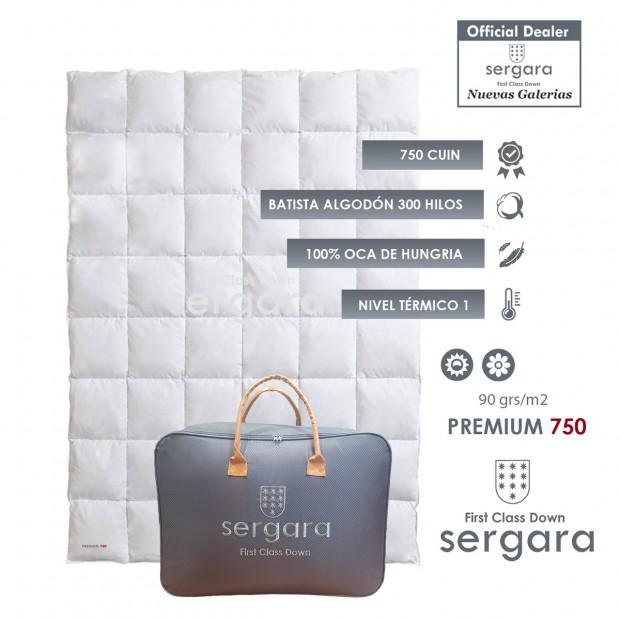 Sergara Premium 750 Fill Power Summer Down Comforter