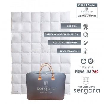 Piumino d´Oca Sergara Premium 750 | Primavera