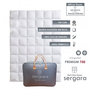 Sergara Premium 750 Fill Power Autumn Down Comforter
