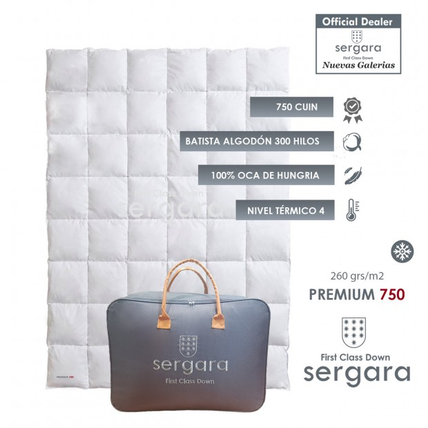 Piumino d´Oca Sergara Premium 750 | Inverno
