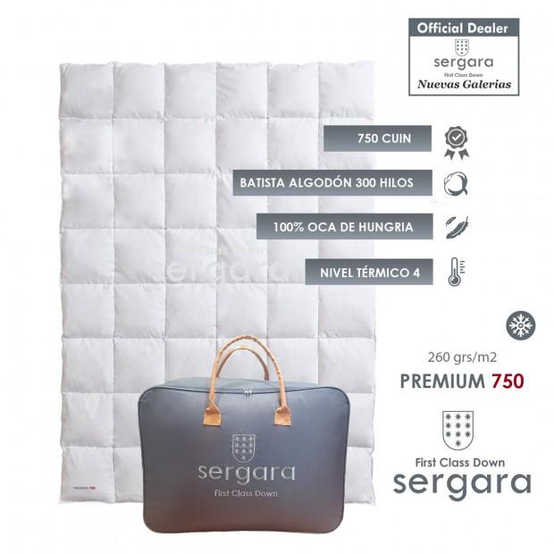 Sergara Premium 750 Winter | Daunendecke