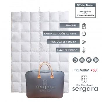 Piumino d´Oca Sergara Premium 750 | Duplice Calore