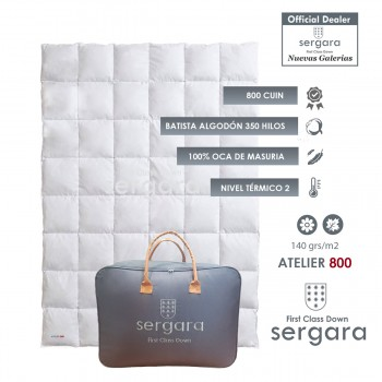 Sergara Atelier 800 Fill Power Spring Down Comforter