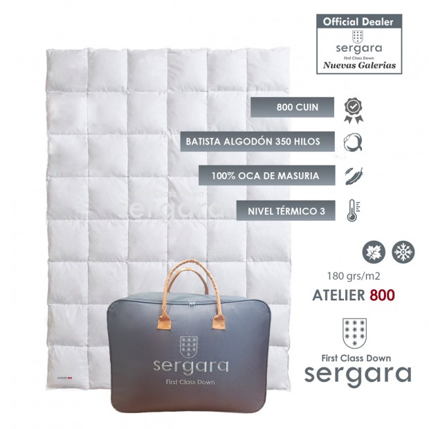 Sergara Atelier 800 Fill Power Autumn Down Comforter
