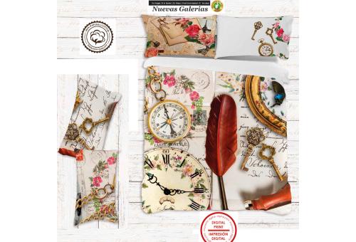 Manterol Manterol Duvet Cover | SNAP 733 Digital Printing - 1 Duvet cover Manterol | SNAP 733Digital 100% Algodon No incluye B