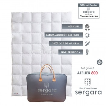 Sergara Atelier 800 Fill Power Winter Down Comforter