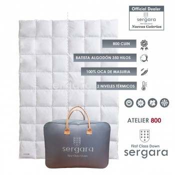 Sergara Atelier 800 Fill Power Dual Warmth Down Comforter