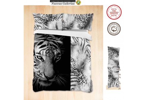 Manterol Manterol Duvet Cover | SNAP 734 Digital Printing - 1 Duvet cover Manterol | SNAP 734 Digital 100% Algodon No incluye B