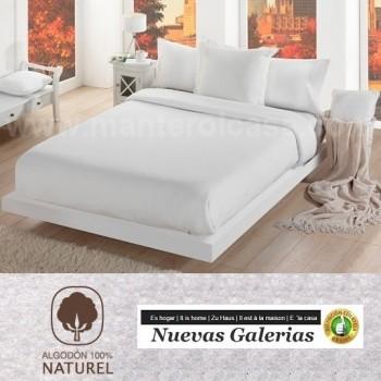 Manterol Cotton Blanket   Cotone White
