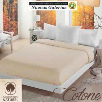 Couverture en Coton Manterol | Cotone Beig