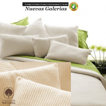 Manterol Cotton Blanket   Malta Beig