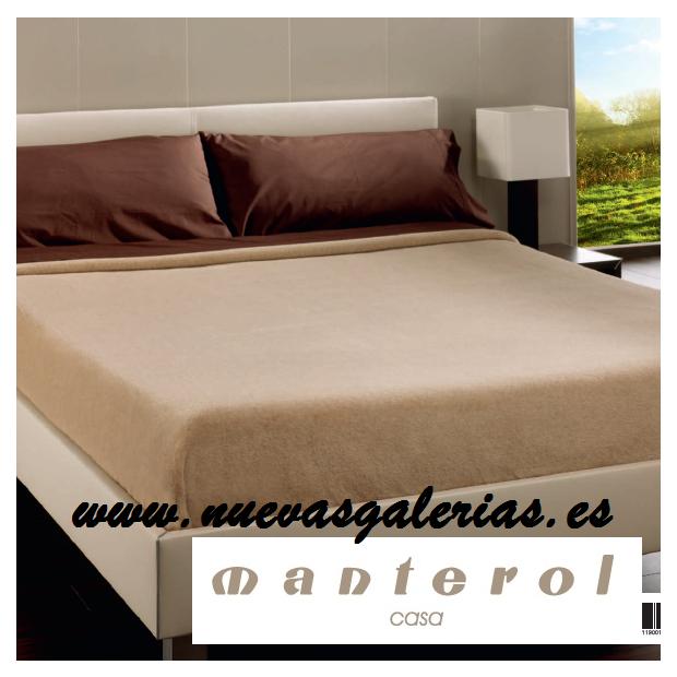 Manterol Couverture en laine Manterol | Palace - 1 Manta de lana Manterol | Palace-Manta 100% Pura Lana de camello 575gr/m2 -