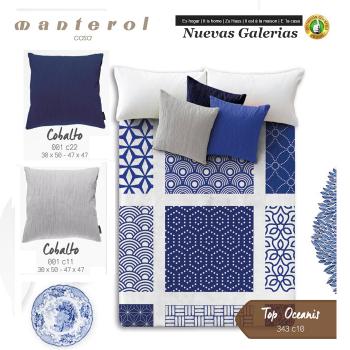 Manterol Welvet Blanket | Oceanis 343-10