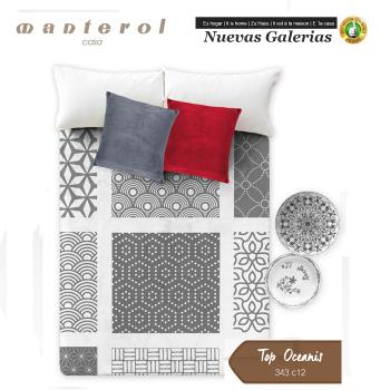 Manterol Welvet Blanket | Oceanis 343-12