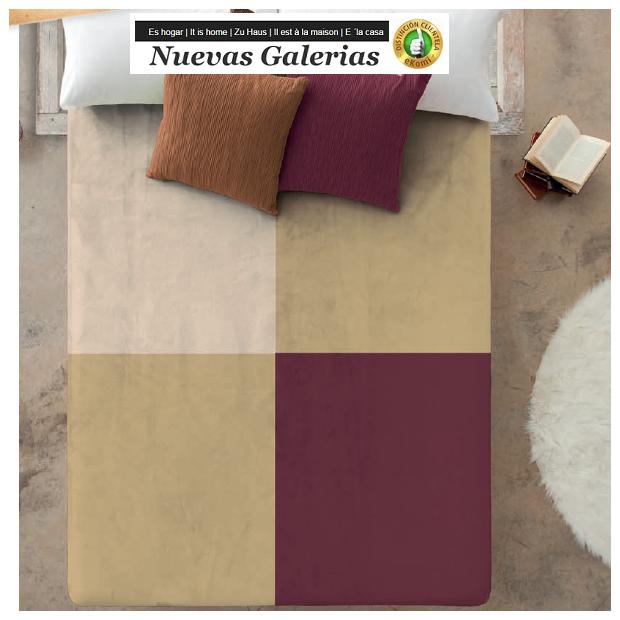 Manterol Manterol Welvet Blanket | Oceanis 327-06 - 1 Manterol touch velvet blanket | Oceanis 327-06 - Very soft velvety touch a