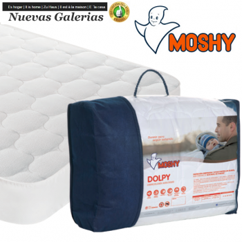 Dolpy Terry Cloth Reversible quilted mattress protector | Moshy