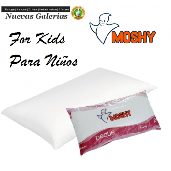 Ergotex® Fiber Pillow 100% cotton Sanforized | Moshy Peque