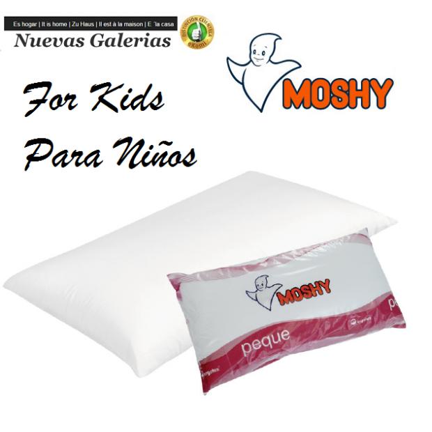 Moshy Oreiller Fibre Ergotex® 100% coton sanforisé | Moshy Peque - 1 Almohada Peque Moshy 100% algodón sanforizadoAlmohada pen