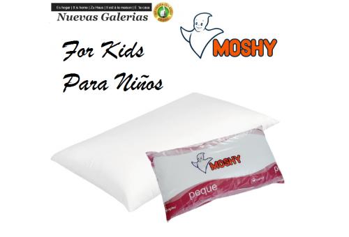 Moshy Ergotex® Fiber Pillow 100% cotton Sanforized | Moshy Peque - 1 Peque Moshy pillow 100% sanforized cotton Pillow designed f