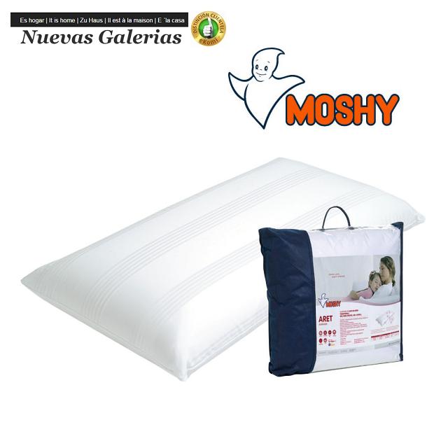 Moshy Cuscino Fibra di Lyocell-Ergotex® | Moshy Aret - 1 Cuscino Aret | Moshy Lyocell e fibre di ergotex, per ottenere un cuscin