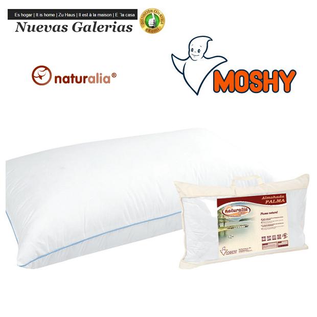 Moshy Almohada Palma 96% Plumon | Moshy - 1 Almohada Palma 96% Plumon | MoshyAlmohada de plumónnatural.Tejido microfibra pol