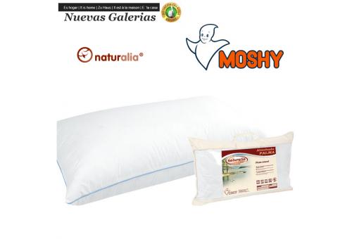 Moshy Cuscino 96% Piumino d'Oca | Moshy - 1 Pillow Palm 96% Plumon | Piumino naturale Moshy. Tessuto in microfibra di cotone co