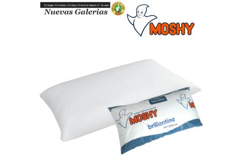 Moshy Oreiller Fibre Helicoitex®| Moshy Brillantina - 1 Almohada brillantina | MoshyTacto Pluma. La inconfundible almohada Bri