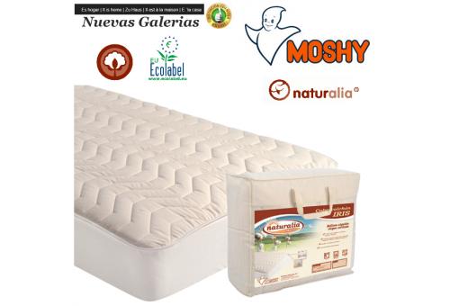 Iris Naturalia quilted mattress protector | Moshy