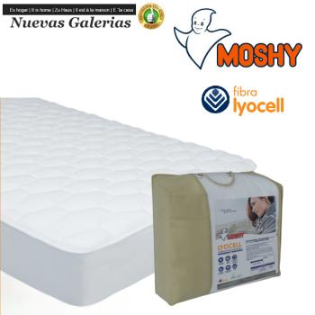 Lyocell Coprimaterasso trapuntato reversibile | Moshy