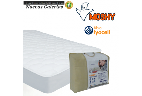 Lyocell Reversible quilted mattress protector | Moshy