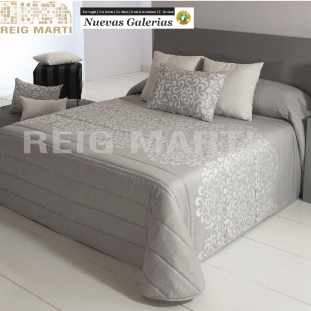 Reig Marti Quilt Reig Marti | Tenor Gray - 1 Quilt Tenor in Gray, of the range 3B of Reig Martí. Quilt made of jacquard fabric i