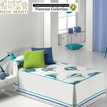 Reig Marti Kids Bedspread Quilt | Ballon
