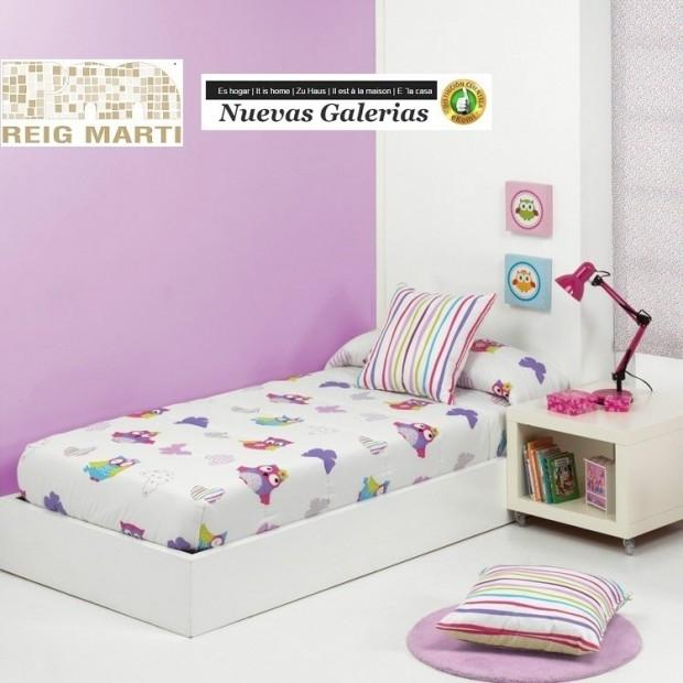 Reig Marti Kinder-Verstellbare Steppdecken Reig Marti | Lala - 1 Verstellbare Decke in den Ecken, Modell Lala von Reig Martí. Id