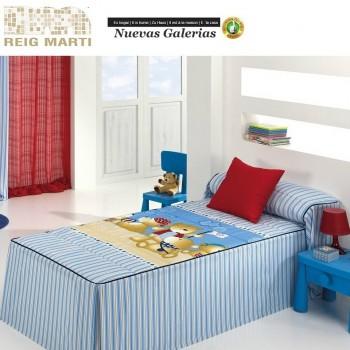 Reig Marti Kids Bedspread Quilt | Teddy