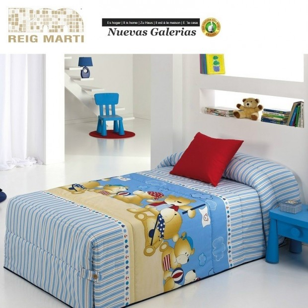 Reig Marti Reig Marti Kids Quilt | Teddy - 1 Teddy children's comforter, by Reig Martí. ideal for the winter months thanks to it