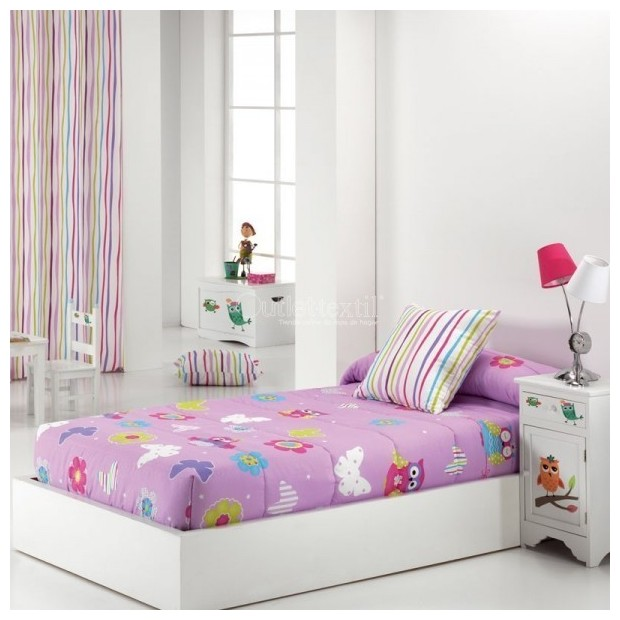 Reig Marti Reig Marti Kids Fitted comforter | Lulu - 1 Edredón ajustable en las esquinas, modelo Lulu, de Reig Martí. ideal para
