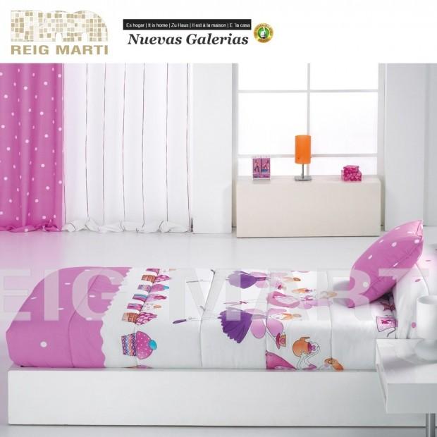 Reig Marti Kinder-Verstellbare Steppdecken Reig Marti | Lollipop - 1 Verstellbare Decke an den Ecken, Modell Lollipop, von Reig