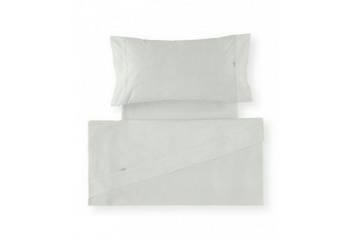 Juego de sábanas LISO BIÉS. 100% algodón (200 hilos). Es-Tela 313-HUESO