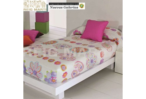 Reig Marti Reig Marti Kids Fitted comforter | Cassy - 1 Adjustable quilt in the corners, model Cassy, ??by Reig Martí. ideal for