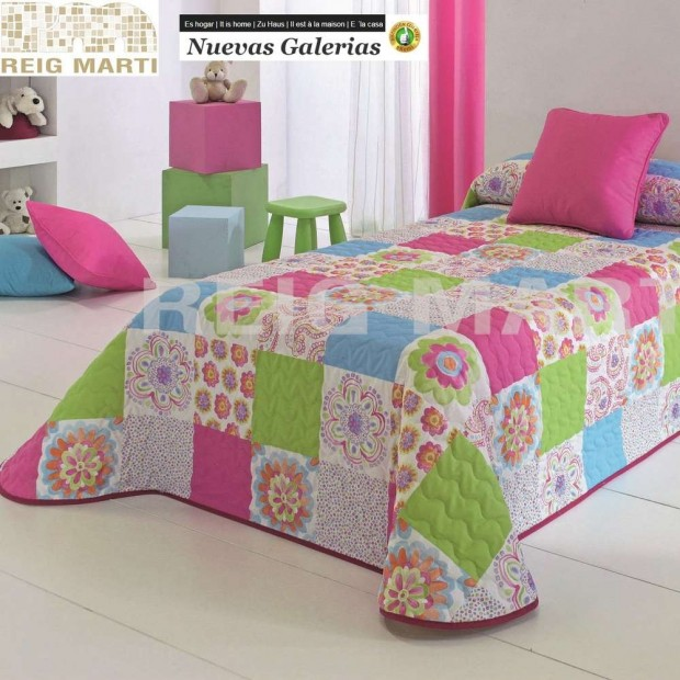 Reig Marti Reig Marti Kids Bouti Bedspred | Conny - 1 Child bouti bedspread model Conny, by Reig Martí. This bouti bedspread is