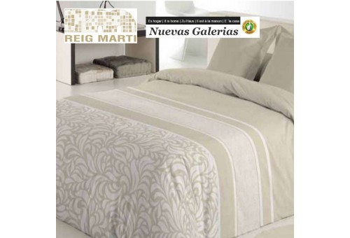Reig Marti Reig Marti Duvet Cover | Turli Beig - 1 Duvet cover Turli in color Beig, by Reig Martí. Composed of 3/4 pieces (bag,