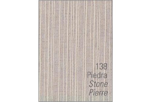 Colcha cubrecama foulard RÚSTICO LISO. Es-Tela 138-PIEDRA