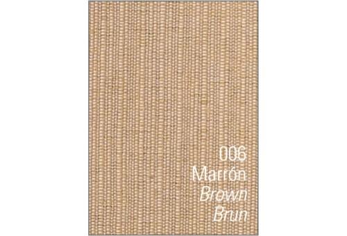 Colcha cubrecama foulard RÚSTICO LISO. Es-Tela 006-MARRON