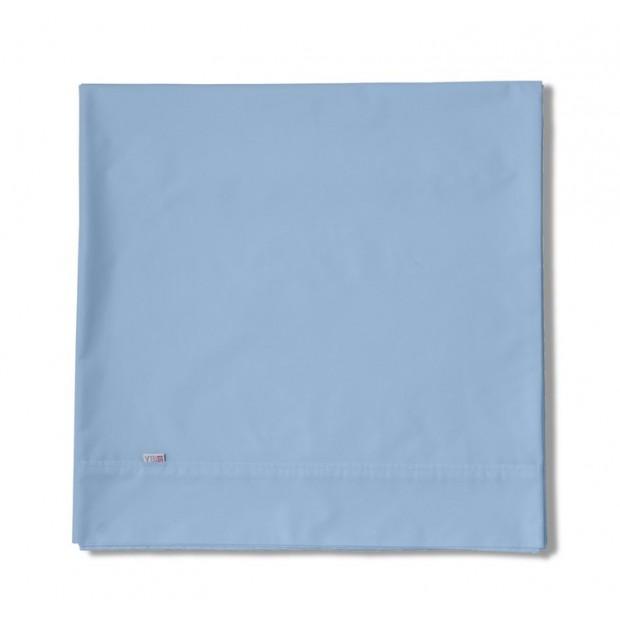 Sábana encimera COMBI LISOS. 100% algodón (144 hilos). Es-Tela 010-Az. CELESTE