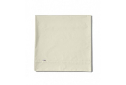 Sábana encimera COMBI LISOS BIÉS. 100% algodón (200 hilos). Es-Tela 255-MARFIL