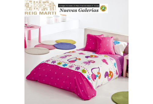 Reig Marti Reig Marti Kids Duvet Cover | Candy - 1 Candy Children's Duvet Cover by Reig Martí. Composed of 3/4 pieces (bag, adju