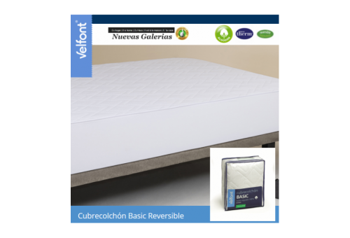 Reversible quilted mattress protector | Velfont